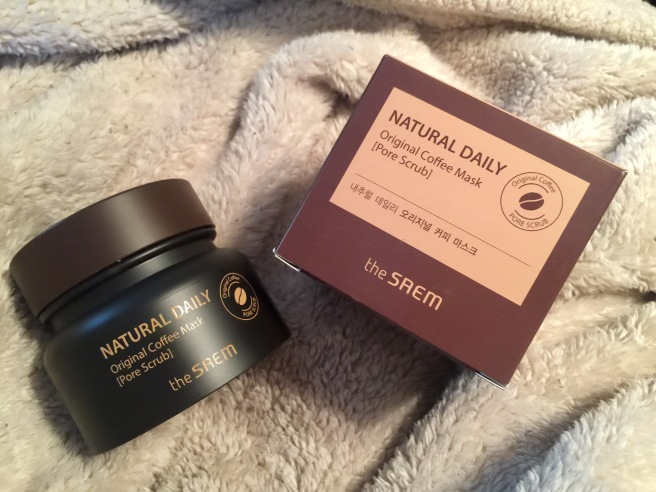 There saem coffee mask